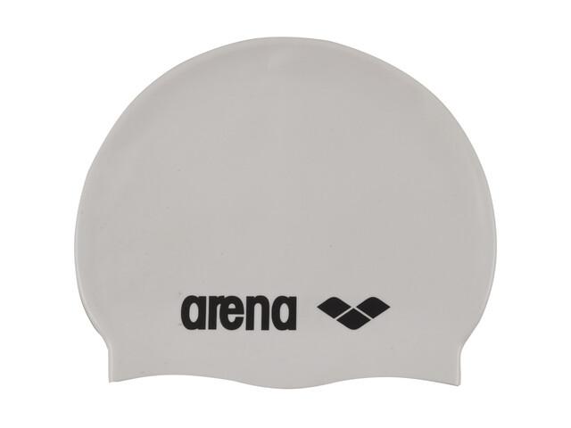 arena Classic Silicone Cap white-black